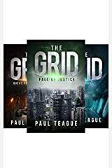 The Grid Trilogy: Fall of Justice, Quest for Vengeance, Catharsis [Collection] Kindle Edition