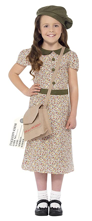 1940s Children's Clothing: Girls, Boys, Baby, Toddler Smiffys Evacuee Girl Costume $17.85 AT vintagedancer.com