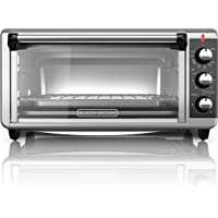BLACK+DECKER 8-Slice Extra-Wide Countertop Convection Toaster Oven
