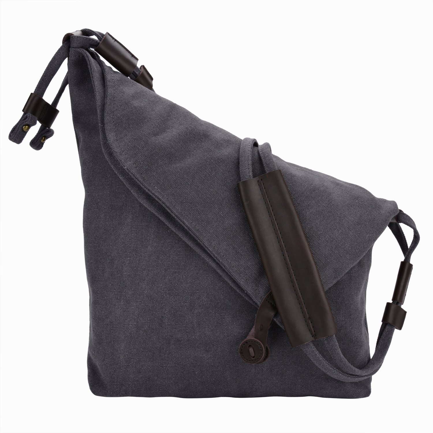 Crossbody Bag,COOFIT Messenger Bag Casual Canvas Hobo Bag Shouder Bag Unisex