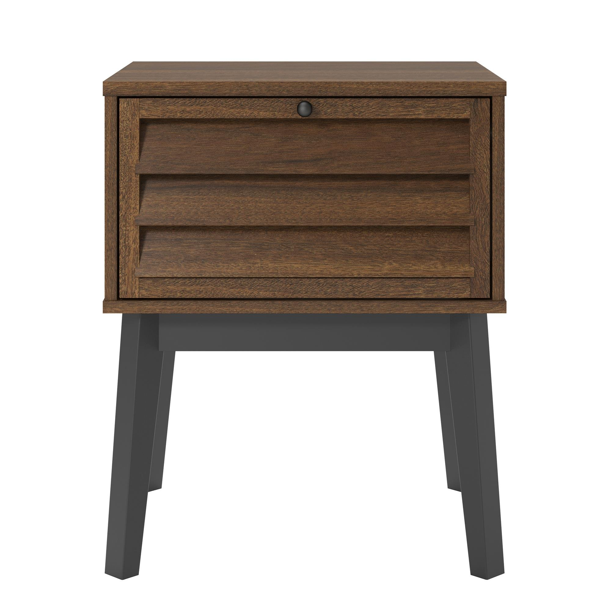 Ameriwood Home 5993096COM Vaughn Nightstand, Walnut