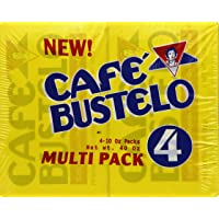 6-Pack Cafe Bustelo Espresso Coffee (4-10oz Bars)