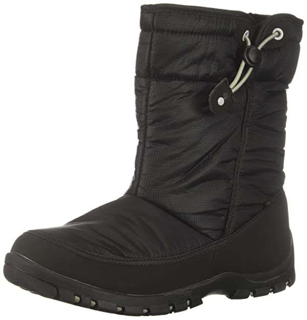 Northside Girls' Celeste Snow Boot, Black, 13 Medium US Little Kid