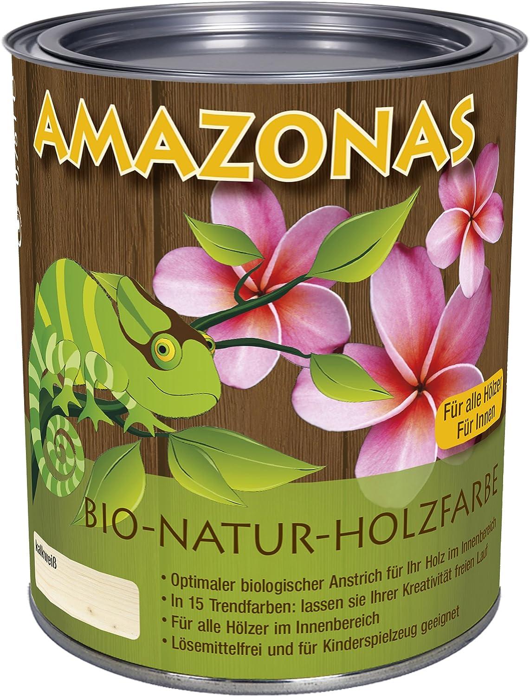 Amazonas 8006 - Pintura natural para madera, color blanco cal ...