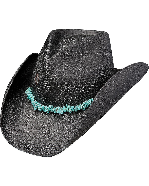 37c66c4cd05 Charlie 1 Horse Unisex Tulum Straw Western Hat Black X-Large CSTLUM-4136