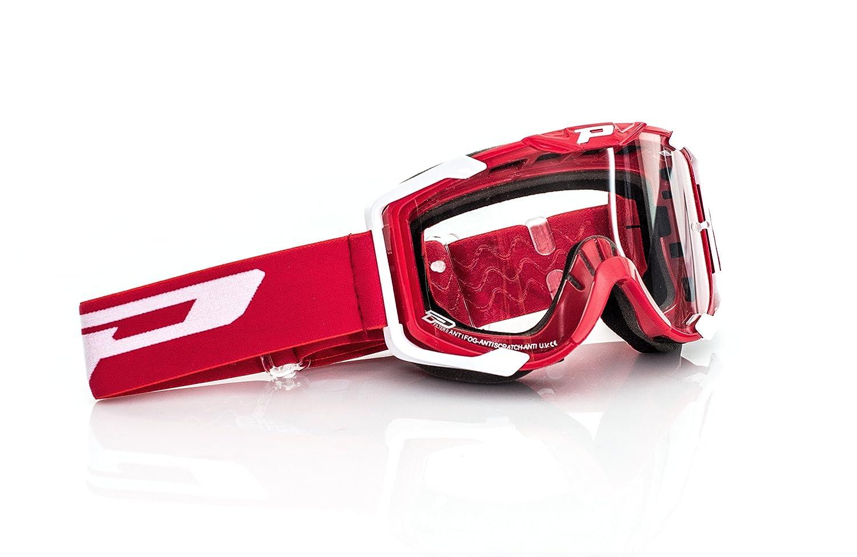 Rojo Progrip Mx Gafas 3400 tama/ño Uni