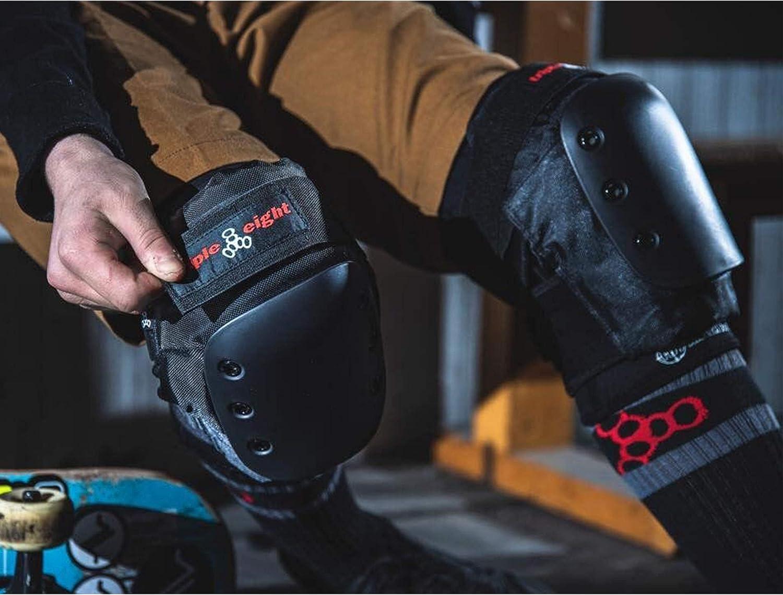 Triple Eight KP Pro Professional Skateboarding Knee Pad Set Pair