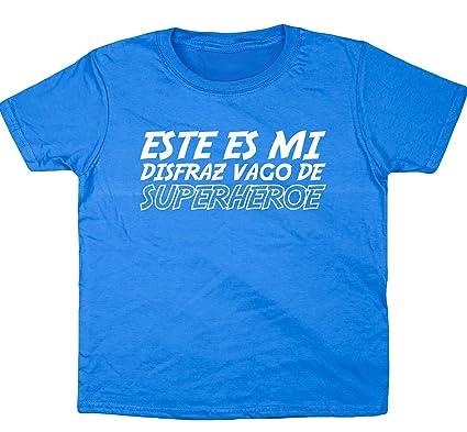HippoWarehouse Este es mi disfraz Vago de Superhéroe camiseta ...