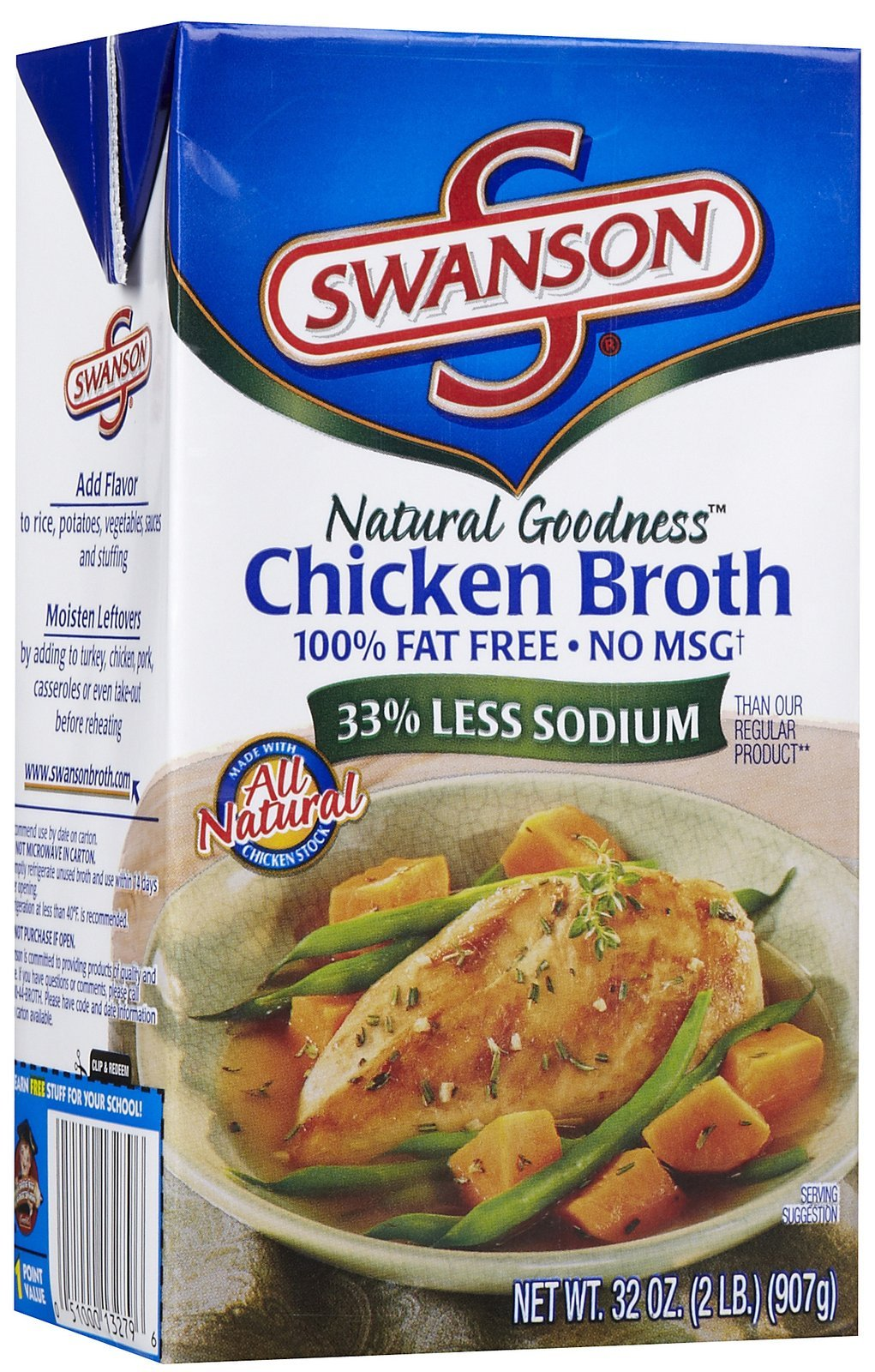 Swanson Natural Goodness Chicken Broth - 32 oz