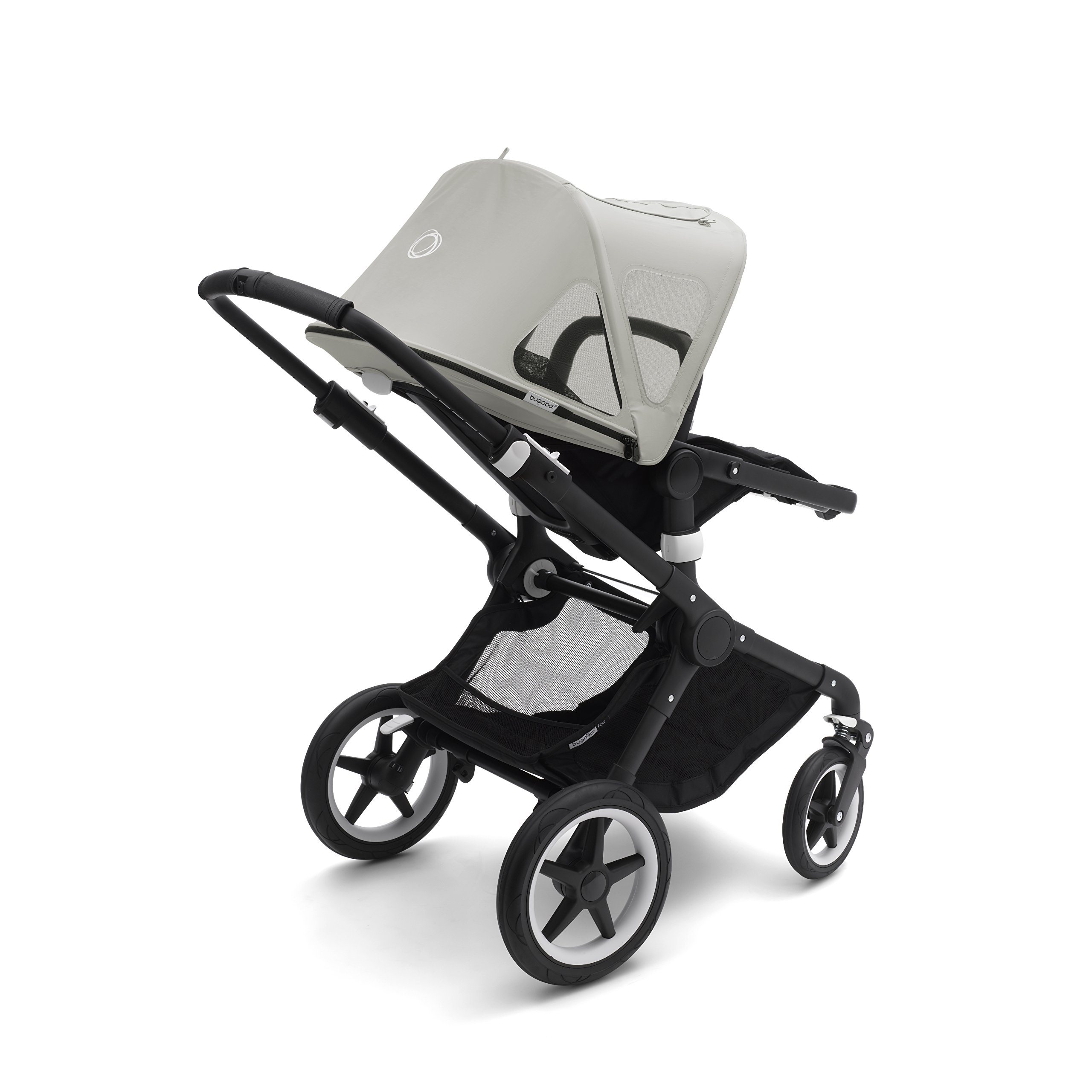 Bugaboo Fox And Cameleon3 Breezy Sun Canopy, Arctic Grey - Extendable Sun Canopy with UPF Sun Protection and Mesh Ventilation Panels by Bugaboo (Image #2)