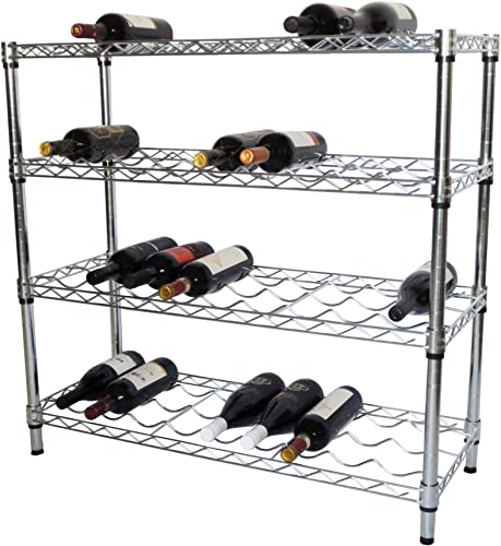 TRINITY EcoStorage 4-Tier NSF Wine Rack