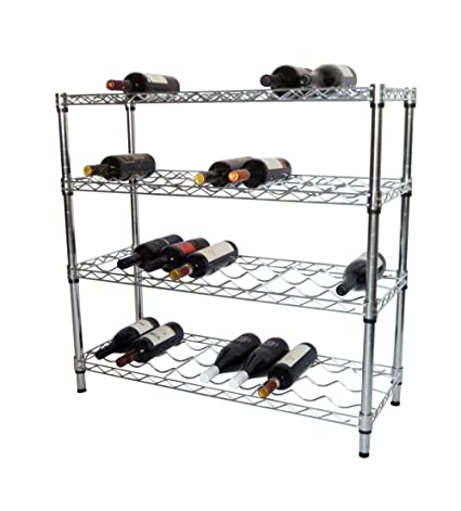 Superieur TRINITY EcoStorage 4 Tier NSF Wine Rack