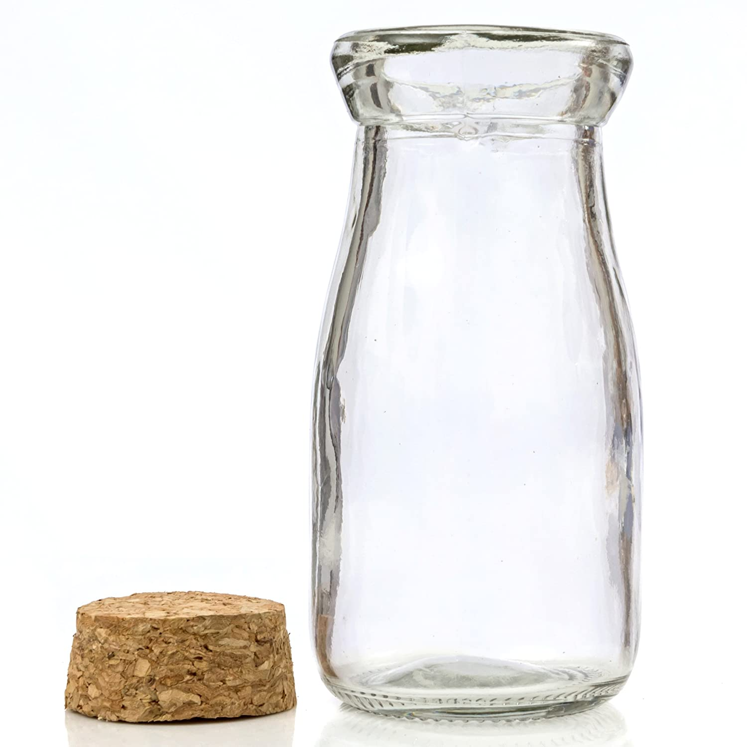 Amazon mini vintage glass milk bottles with cork 24 pieces amazon mini vintage glass milk bottles with cork 24 pieces for favors parties home kitchen reviewsmspy