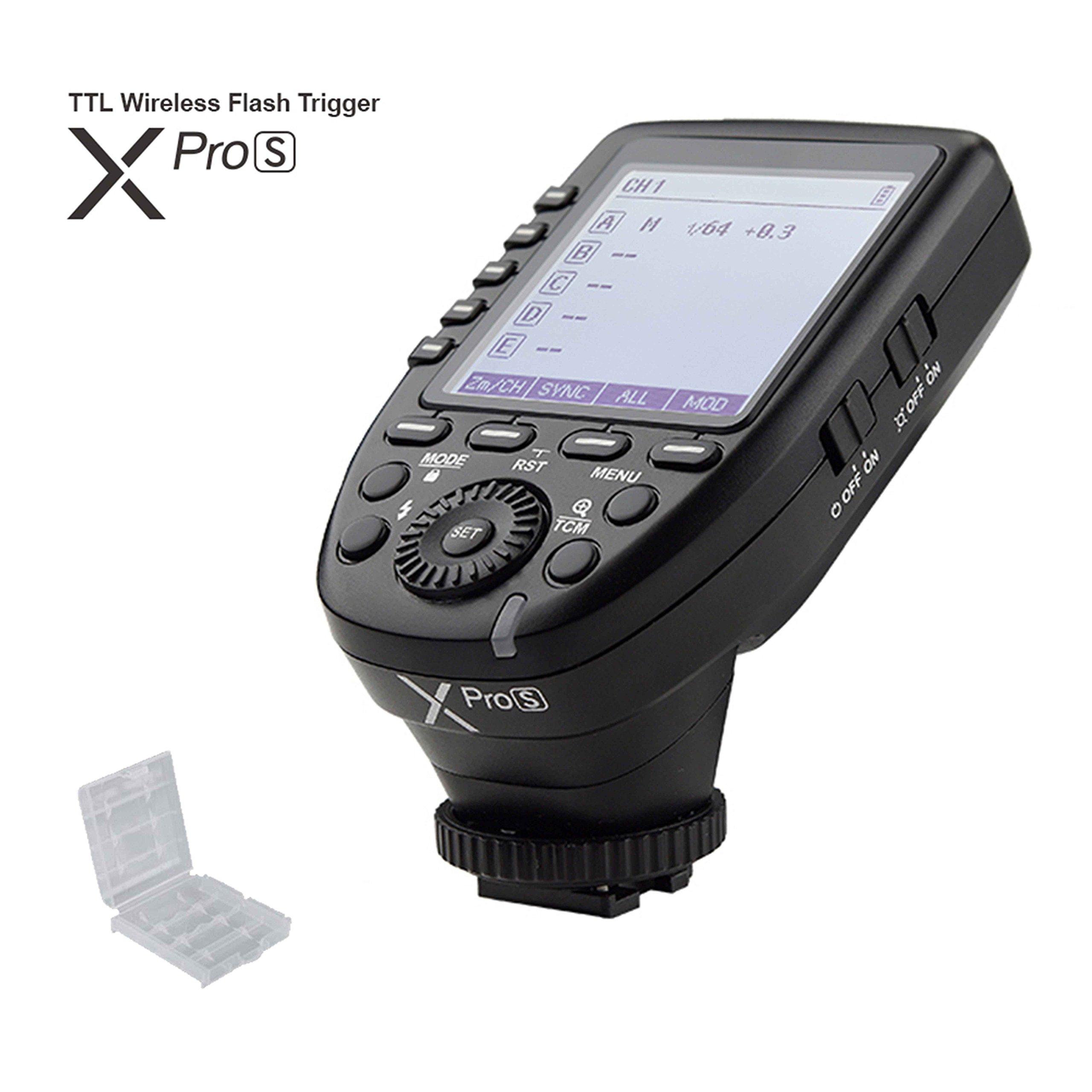 Godox xpro Xpro-S XPros TTL Wireless Flash Trigger 1/8000s 11 Customizable Functions for Sony Camera for Godox TT685S TT350S V860II-S