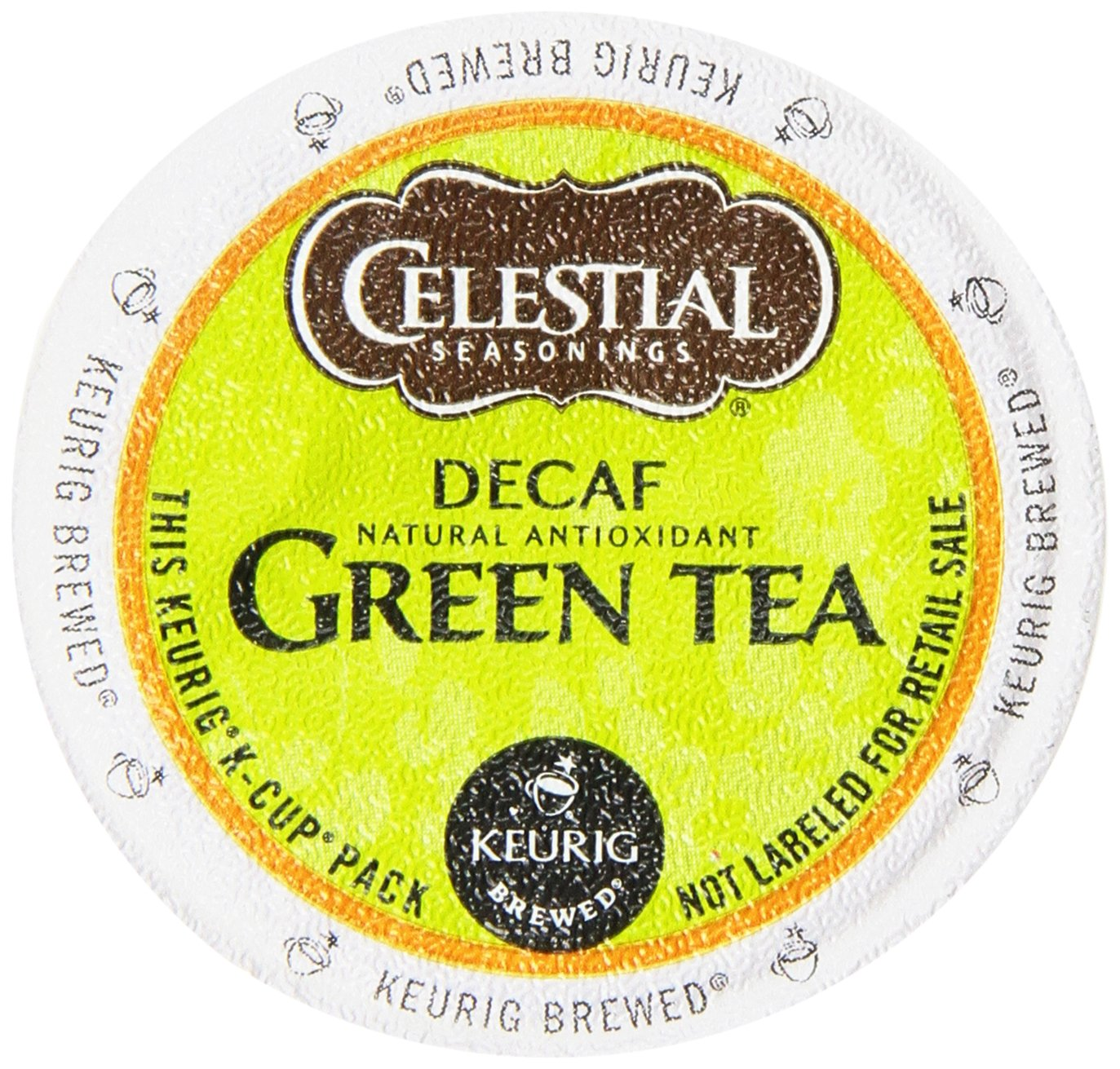 Celestial Seasonings Decaffeinated Green Tea K-Cups For Keurig Brewers, 24 Count (Pack of 4) by Celestial Seasonings