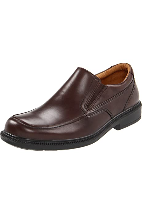 FS6070 Hush Puppies Mens Glove Slip On Leather Shoes