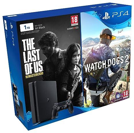 PlayStation 4 - Bundle Consola De 1 TB + The Last Of Us + ...