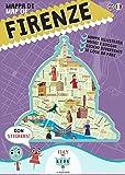 Mappa di Firenze illustrata. Ediz. italiana e inglese
