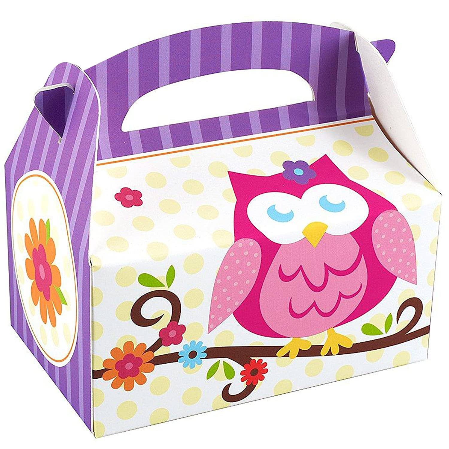 Owl Blossom Empty Favor Boxes Party Supplies 4