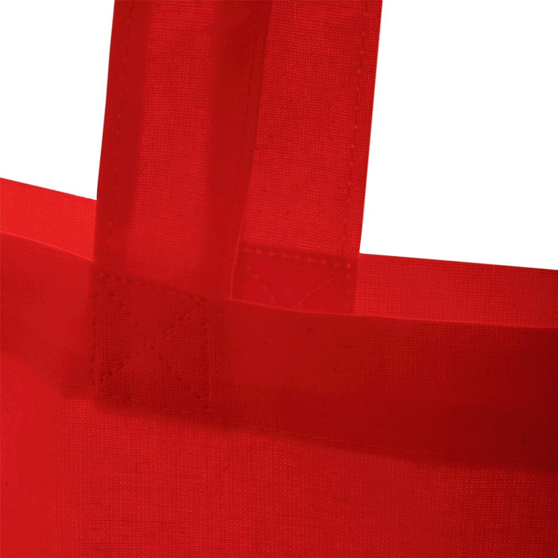 Stoffbeutel aus Baumwolle Jutebeutel lange Henkel Colibri Shirtracer V/ögel