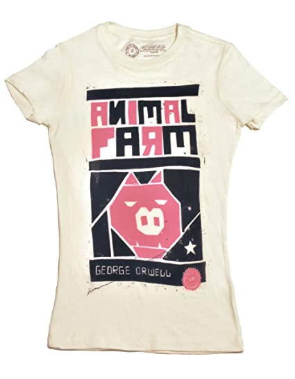 Out of Print Womens Tee - Animal Farm