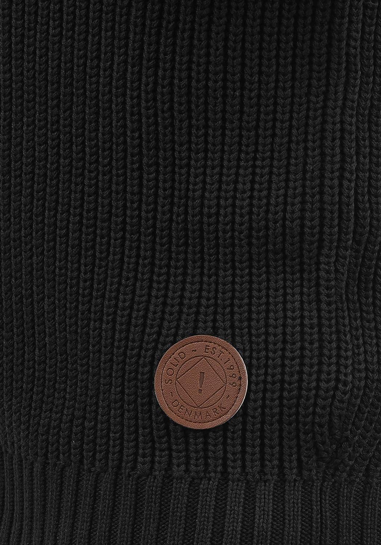 !Solid Xeno Cardigan Giacca in Maglia Grossa Maglieria da Uomo con Cappuccio in Cotone 100/%