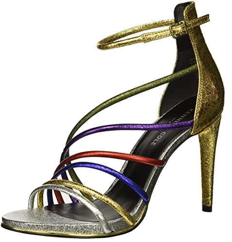 2c4a134fc2e3 Kenneth Cole Women s Barletta Ankle Strap Sandals  Amazon.co.uk ...