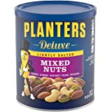 Planters Mixed Nuts, Lightly Salted Deluxe Mixed Nuts, 15.25 Ounce