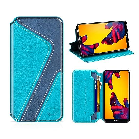 156c188e77b0d3 Amazon.com  Smiley Huawei P20 Lite Wallet Case
