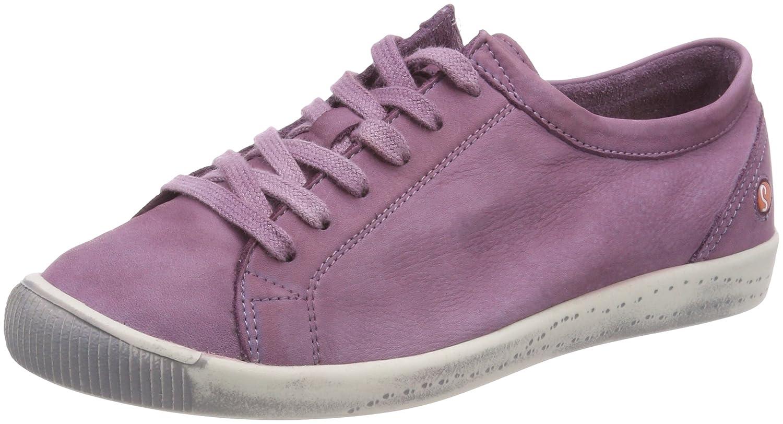 Softinos Women's Isla Sneaker B073MMW339 EU38|Lilac