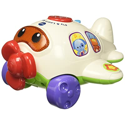 VTech Fly & Learn Airplane: Toys & Games [5Bkhe0504294]