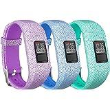 Garmin Vivofit 3/ Vivofit JR Bands, SKYLET Silicone Replacement Bands for Garmin Vivofit 3/Vivofit JR Bracelet with Secure Watch Buckle (No Tracker)