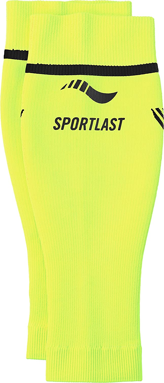 Sportlast Pro Pantorrilleras de compresi/ón Amarillo//Negro M