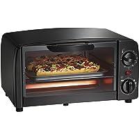 Hamilton Beach, Black Proctor Silex 4-Slice Toaster Oven, (31118R), One Size