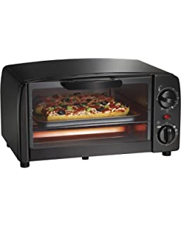 Proctor Silex 4-Slice Toaster Oven, Black (31118R)