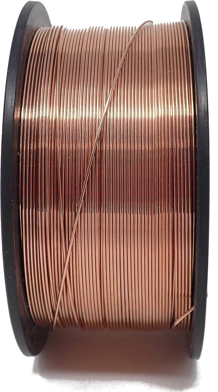 1 KG Schweissdraht Ø 1, 0mm Stahldraht SG2 G3Si Spule D100mm MIG/MAG DFK Handelsgesellschaft