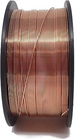 1 kg alambre de soldadura SG3 Diámetro 0,6 mm 1 kg d100 mm Acero ...