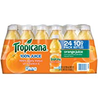 Deals on Pack of 24 Tropicana Orange Juice 10 Ounce