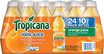 24-Pack Tropicana 10 Oz Orange Juice