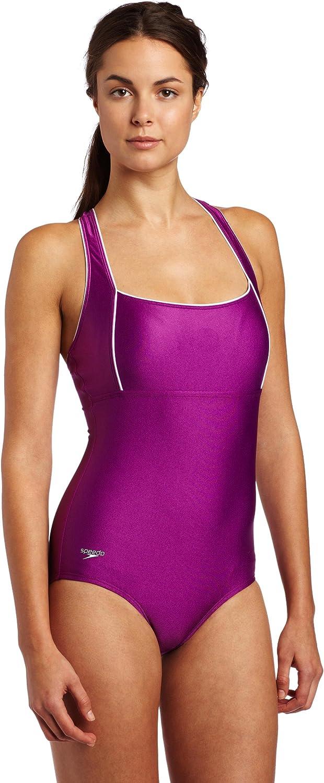 Speedo Aquatic Xtra Life Lycra Plus Size Moderate Ultraback Swimsuit,Teal,20