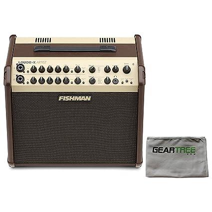Amazon.com: Fishman PRO-LBX-600 Loudbox Artist Acoustic Guitar Amp w/Polish Cloth and Foots: Musical Instruments