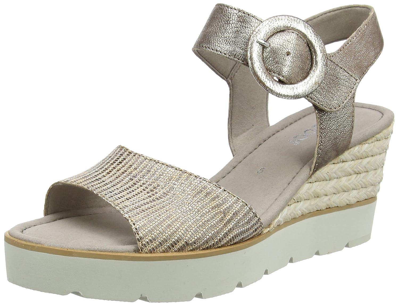 Gabor Shoes Fashion, Sandales Bout Ouvert Bout Femme B01M6YDZR8 Marron (Torba Shoes 63) 33c5c56 - gis9ma7le.space