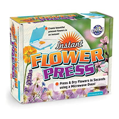 My Living World Instant Flower Press: Toys & Games