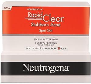 Neutrogena Rapid Clear Stubborn Acne Spot Gel 1 oz (Pack of 3)