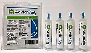 Syngenta Advion Ant Gel - 1 Box (4 X 30 Gr.Syringes)