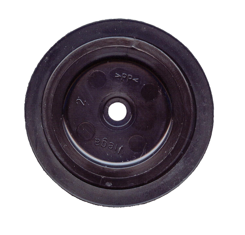 Ventilstopfen 40,5 mm Gummi schwarz Stöpsel für Spülen  Haas