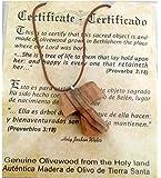 Olive Wood Pendant - Christian Tau Tao Cross...