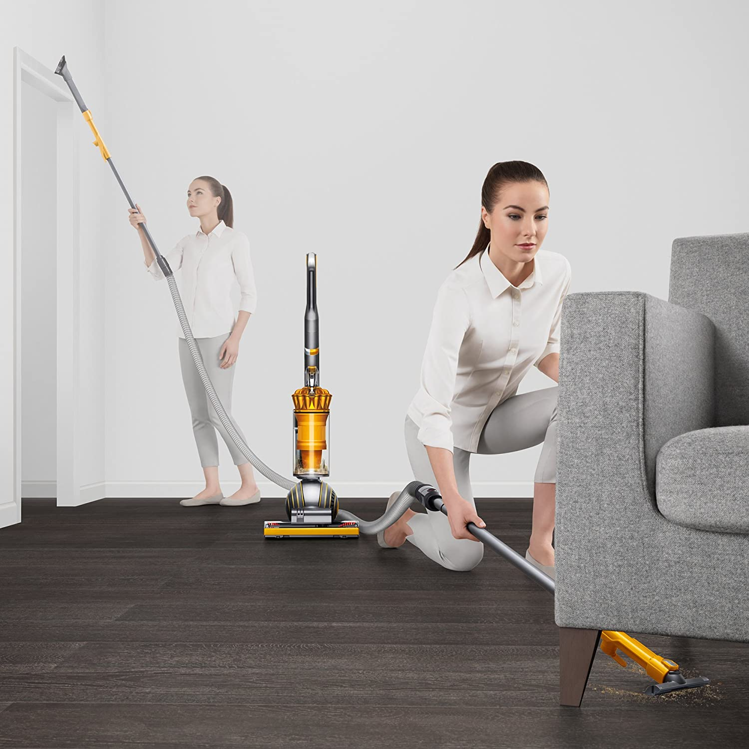 Dyson Upright Vacuum Cleaner, Ball Multi Floor 2, Yellow