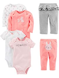 c8f36d71a Simple Joys by Carter's Girls' 6-Piece Little Character Set