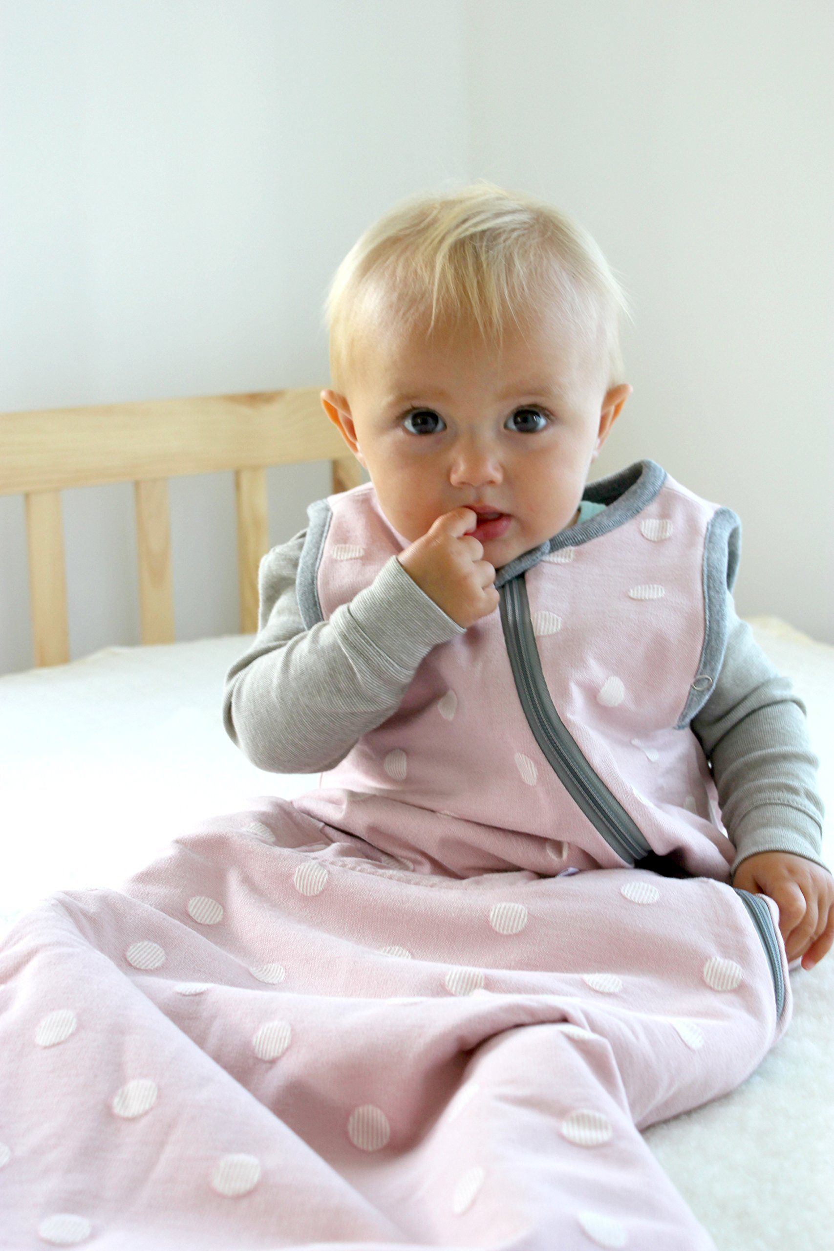 WINTER DUVET MERINO Toddler Sleeping Bag / Sleep Bag, 2-4 yrs old, BLOOM